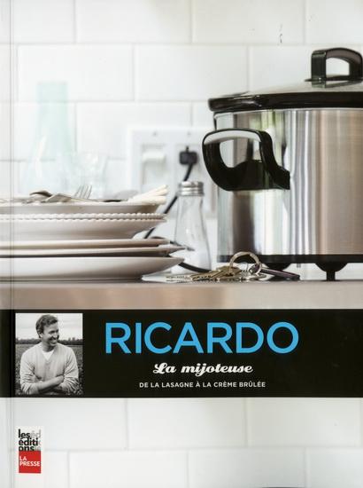 Livre: la Mijoteuse, de la lasagne à la crème brulée